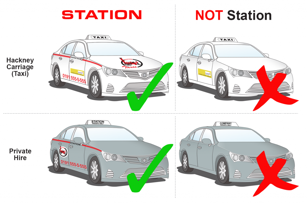 How to spot a Station Taxi