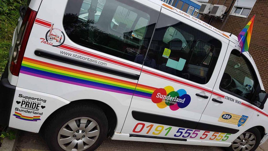 Pride taxi